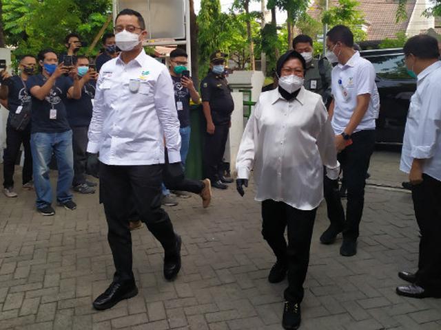 Risma Dikabarkan Ditunjuk Jokowi jadi Mensos Gantikan Juliari Batubara