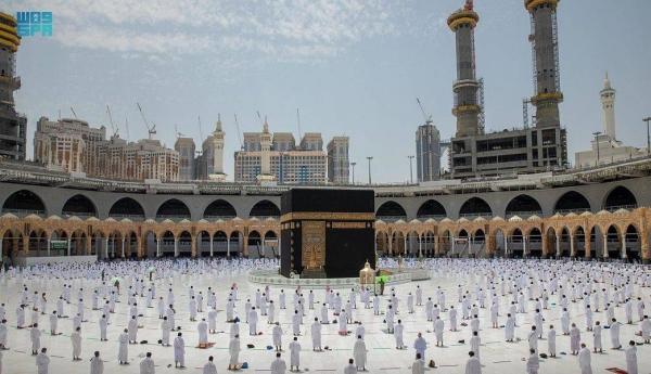 Worshipers flock to the Haramain Sharifain on First Friday of Ramadan