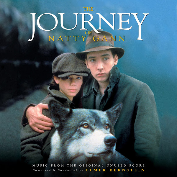 journey of natty gann unused soundtrack cover elmer bernstein
