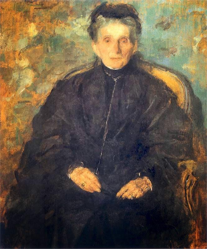 Olga Boznańska - Jadwiga z Sanguszków Sapieżyna