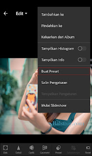 cara pasang preset lightroom
