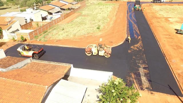 Prefeitura realiza pavimentação e interligação de ruas