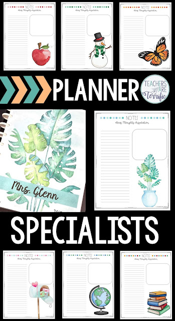 Are you looking for a teacher binder or planner or calendar? If you are like me and only teach ONE subject your planner/binder/calendar needs are different! This product is designed for specialists that want a calendar specifically for a teacher of one subject!