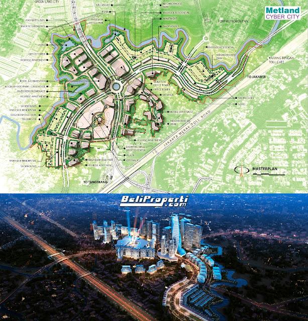 metland cyber city tangerang