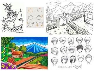 Menggambar, Pengertian dan Pendapat Para Ahli Tentang Menggambar
