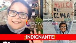 Amenazan de muerte a niño ambientalista colombiano