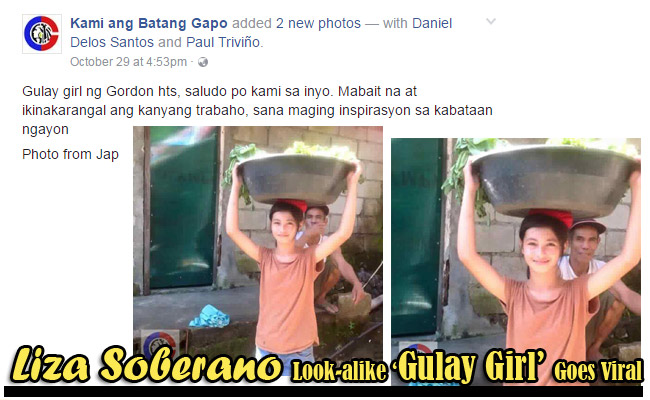 Liza Soberano Look-alike 'Gulay Girl' Goes Viral