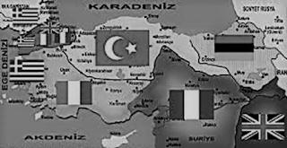 sevr anlaşması haritası