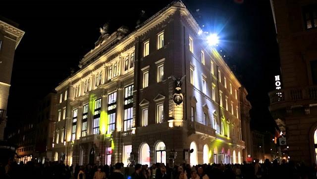 Loja H&M para comprar roupa em Roma