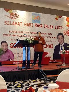 Salah satu acara bersama Erick Thohir di Surabaya pada 2019 lalu.