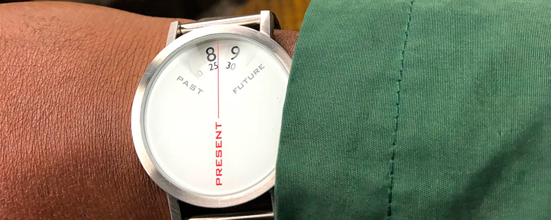 Un reloj para vivir sólo en el presente