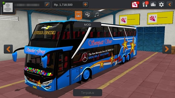 Livery JB2+ SDD MD Creation Sempati Star Biru