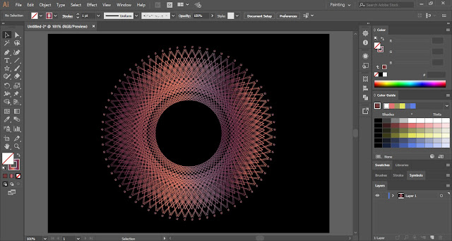 Geometric Art in Adobe Illustrator