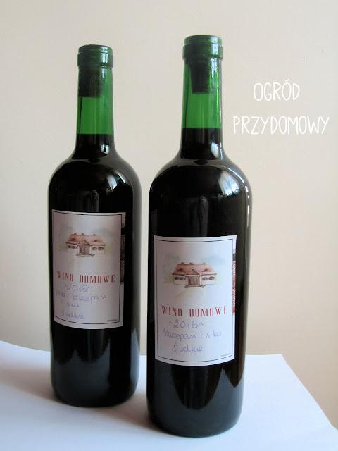 wino domowe, ogród przydomowy