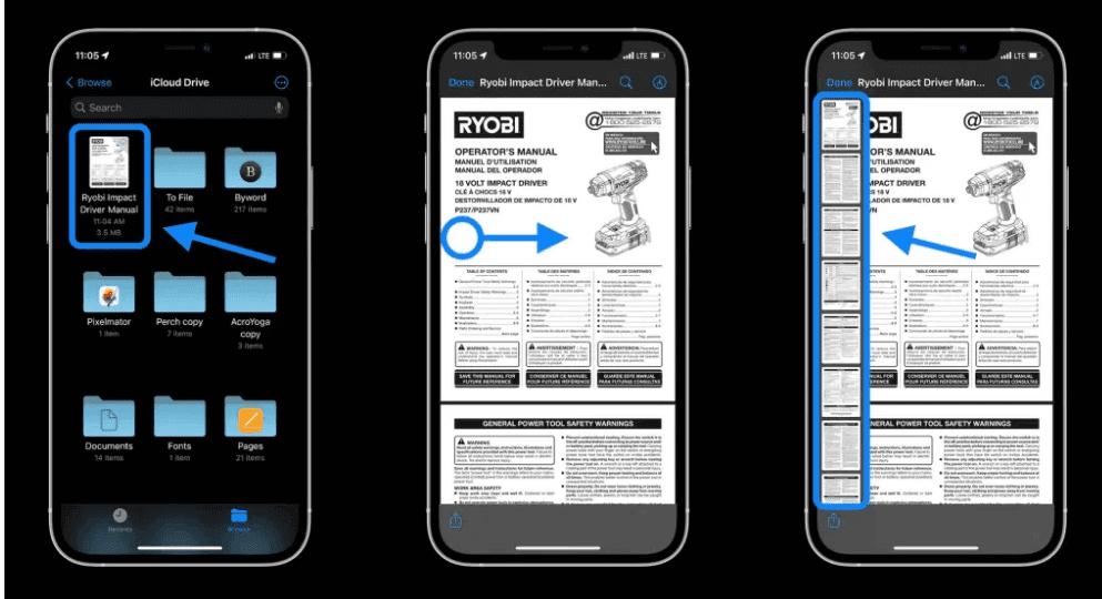 cara edit pdf di iphone