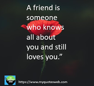 A friend is somone who knows | love quotes
