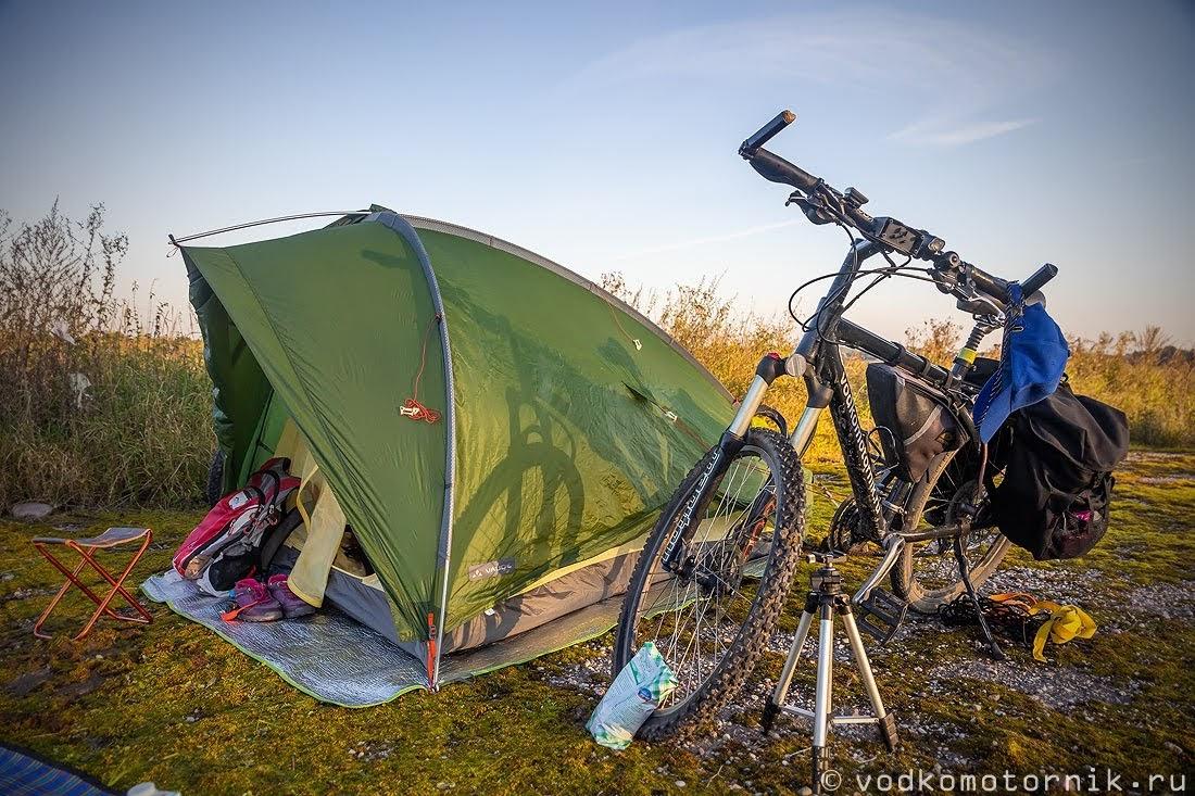 Палатка Vaude - наш дом