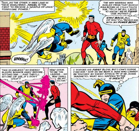 The Peerless Power of Comics!: Can't Touch This