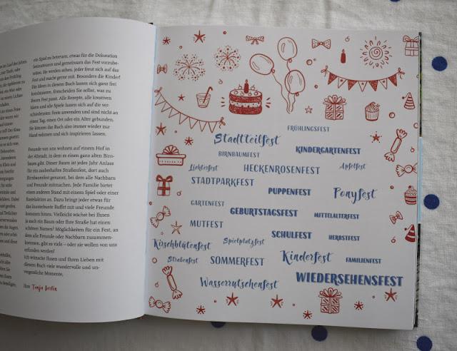 """""""Feste feiern mit Kindern"""": Tipps zum Vorbereiten und Genießen von Familien-Festen von Tanja Berlin. Feste, Rezepte und Spiele für alle Jahreszeiten und Anlässe!"""