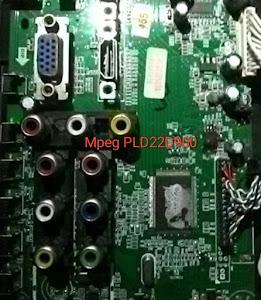 mengatasi tv led polytron rusak pld22d900