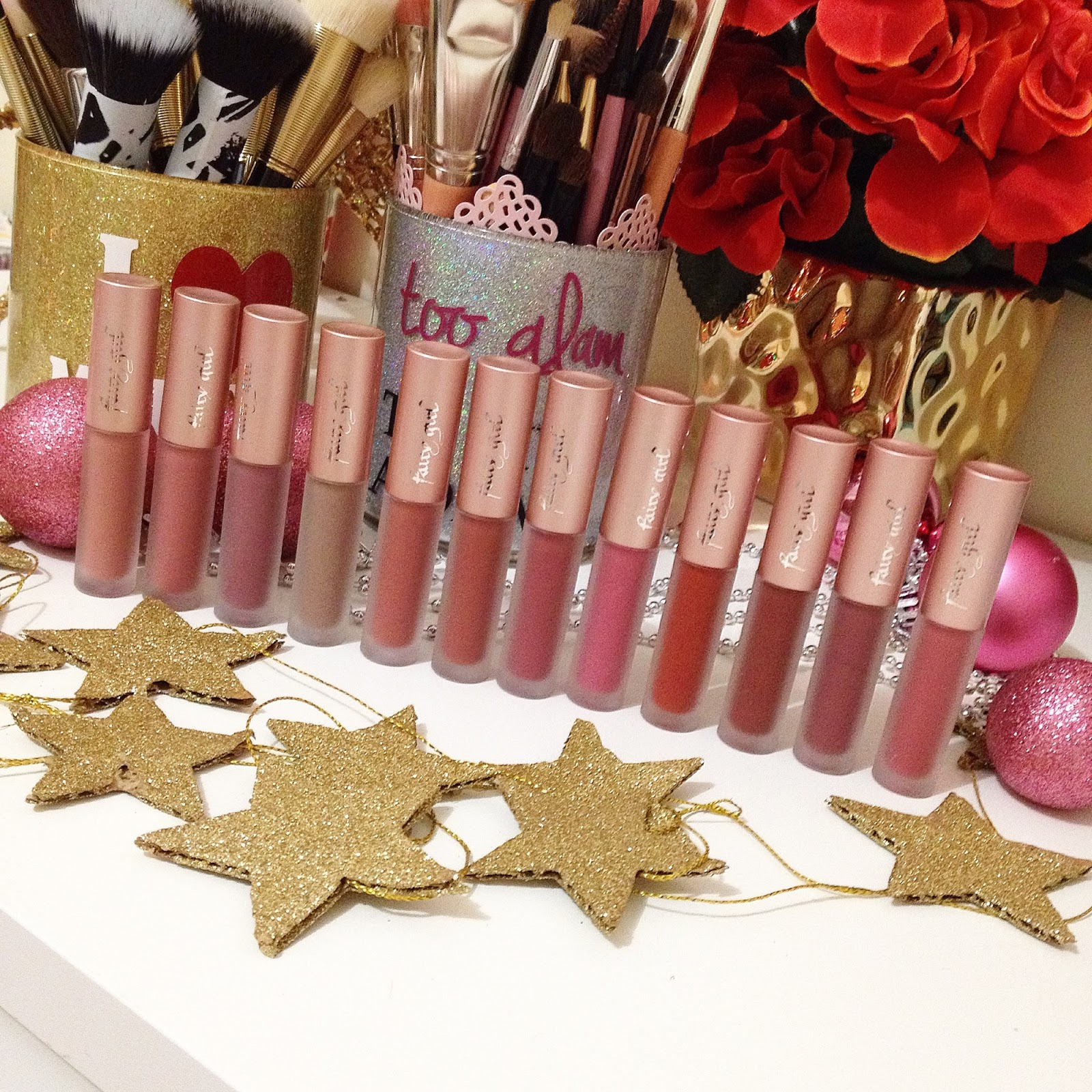 Fairy Girl ~ New Liquid Lipstick ~ Whole Collection , Swatches and Review