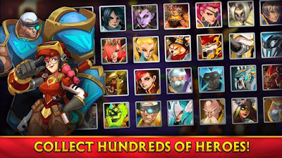 Alliance: Heroes of the Spire MOD APK v58148 for Android Original Version Terbaru 2018