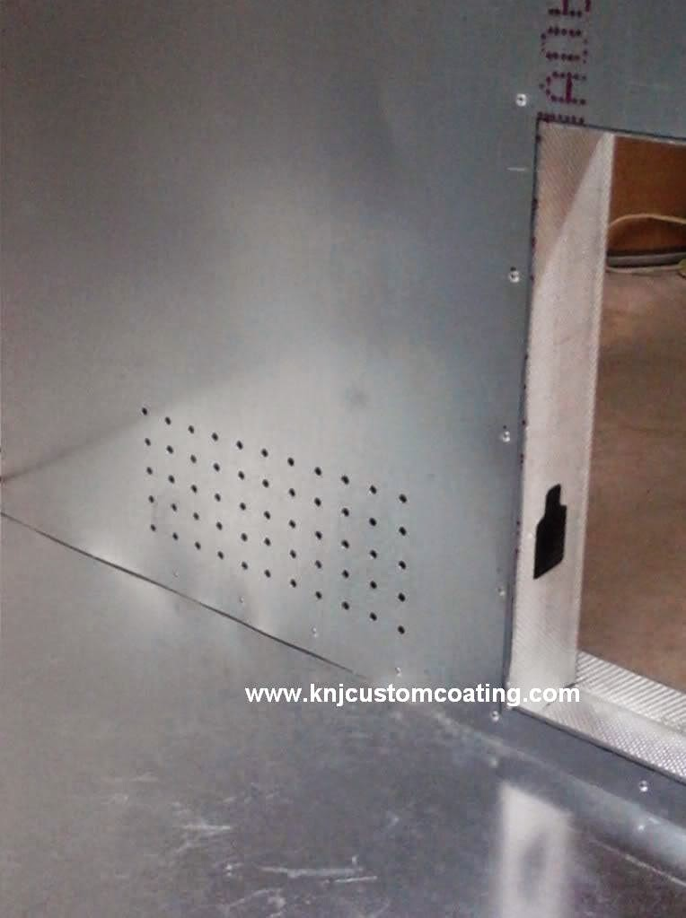powder coating oven air cirulation