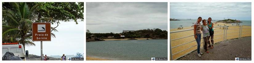 Praia da Sereia - O que fazer em Vila Velha - Espírito Santo
