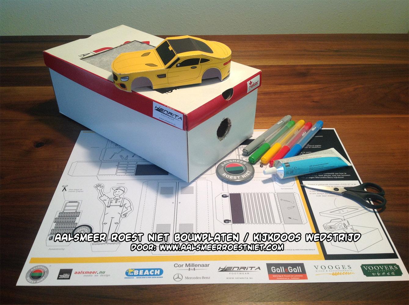 Bouwplaat wedstrijd / papercraft contest