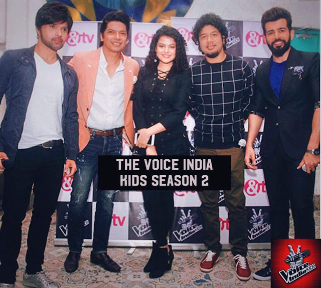 'The Voice India Kids Season 2' &Tv Show Wiki Audition,Judges,Contestant,Host,Promo,Timing