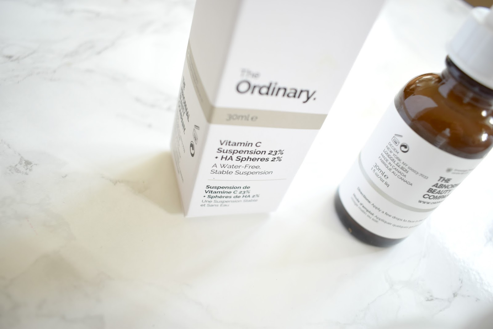 Deceit / The Ordinary UK Beauty Blogger Review Vitamin C, hyaluronic acid