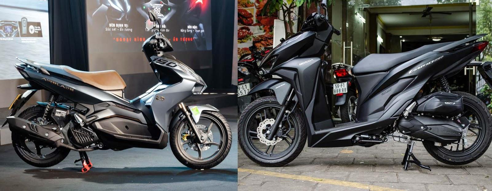 So sánh Honda Air Blade 2020 và Honda Vario 150
