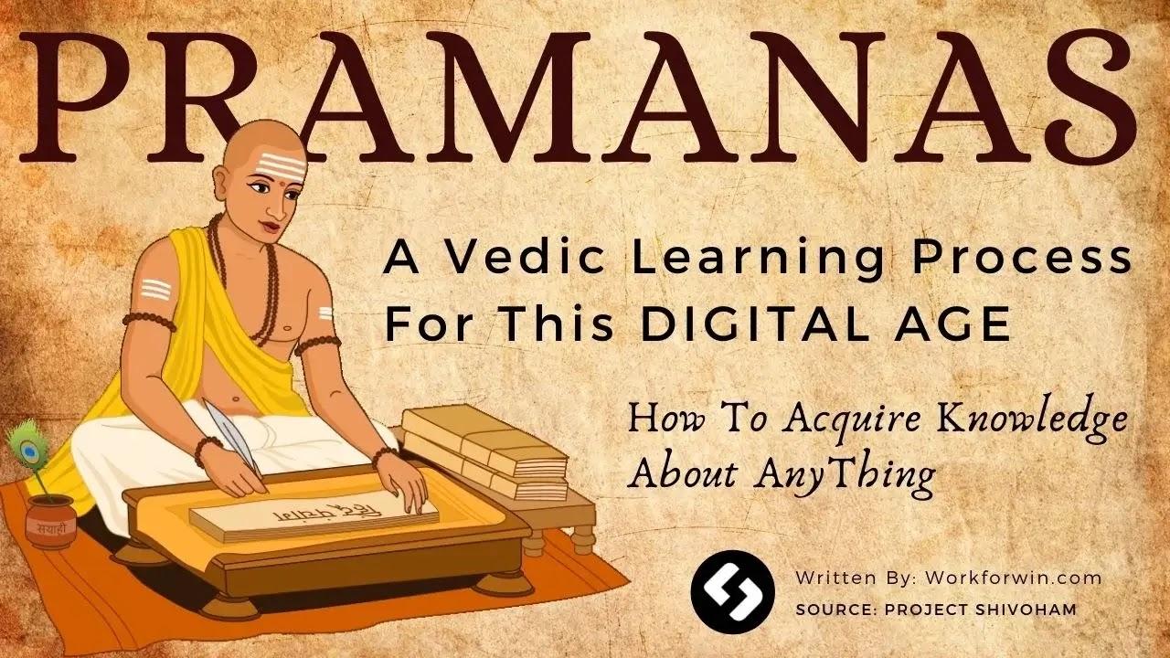 Vedic learning preocess