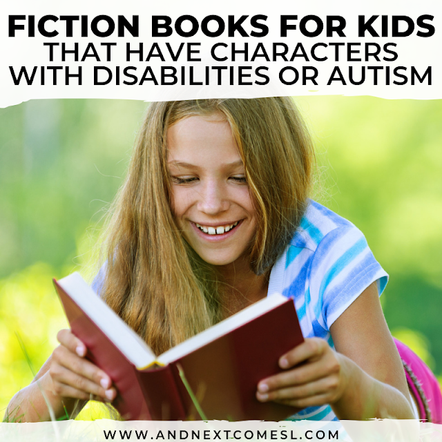 Disability chapter books for older kids
