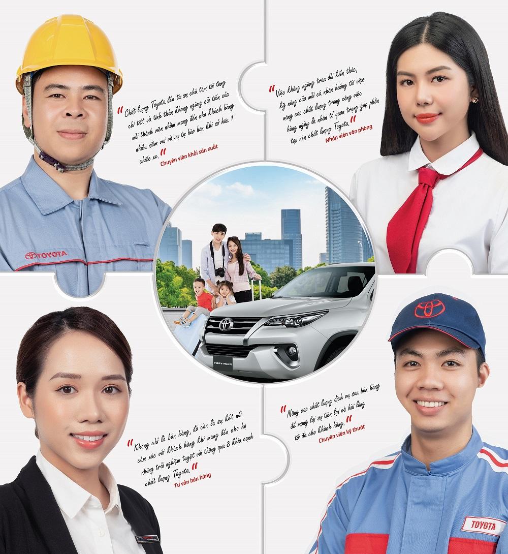 Toyota phát động phong trào chất lượng nội bộ