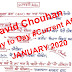 David Chouhan Hand Written January 2020 Current Affairs pdf Download in Hindi