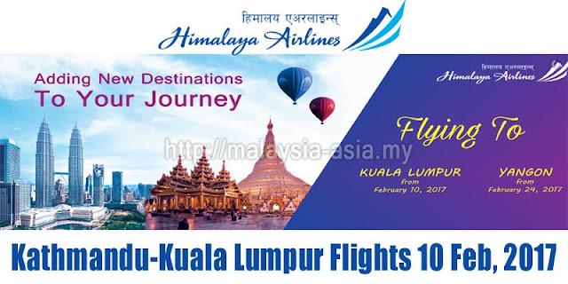 Kuala Lumpur Nepal Himalaya Airlines