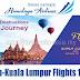 Himalaya Airlines Kathmandu to Kuala Lumpur Flights