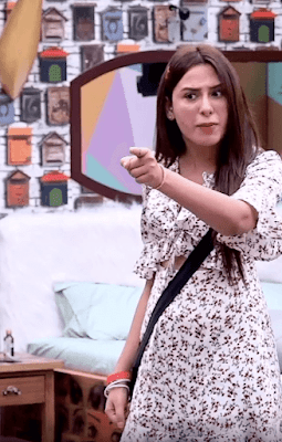 Controversial comment from an Ex bigg boss player Mahira Sharma