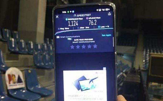 Smart 5G powers PBA Bubble