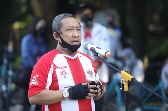 Ditengah Pandemi Covid-19, Pemkot Bandung Kampanyekan Bersepeda Aman Dan Sehat