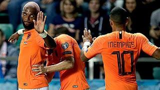 Estonia vs  Belanda 0-4 Full Highlights