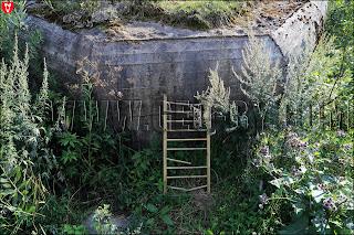Лестница на ДОТ №128