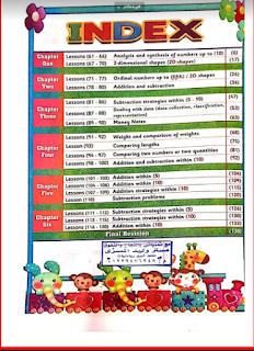 كتاب الباهر في الماث رياض الأطفال المستوى الأول kg1 الترم الثانى al baher Mathkg1 secand term