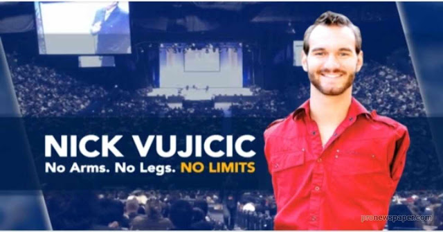 Man With no Arms or Legs - Nick Vujicic