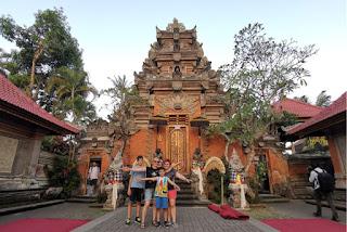 Indonesia, Isla de Bali, Ubud, Puri Saren Agung o Palacio Real de Ubud.