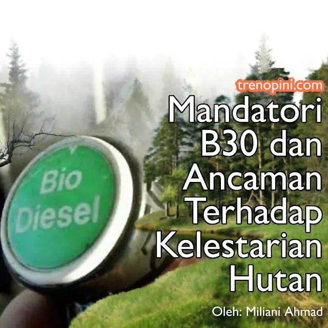 Mandatori B30 adalah program nasional pemerintah yang mewajibkan adanya pencampuran 30% bahan biodiesel dengan 70% solar.