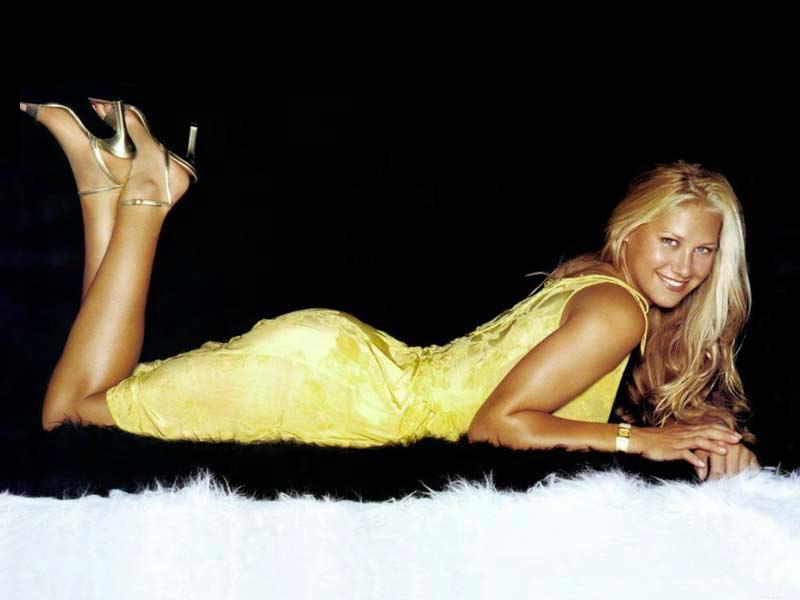 Hollywood Hottest: Tennis Player Anna Kournikova Hot hd wallpapers