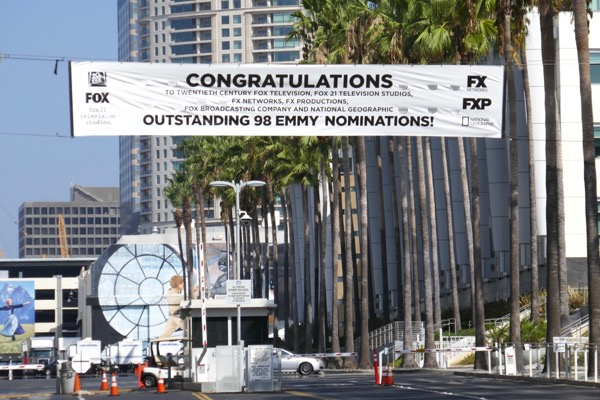 98 Emmy nominations banner Fox Studios