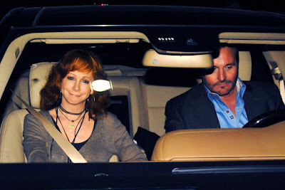 Laura Putty Stroud's ex-boyfriend with his ex-wife inside the car